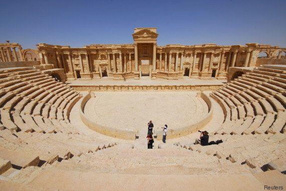 PHOTOS. Palmyre: Depuis la prise par Daech, qu'est devenue la cité