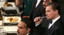 Cette photo de DiCaprio qui vapote vaut le