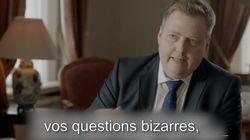 Le Premier ministre islandais n'a pas apprécié les questions sur les