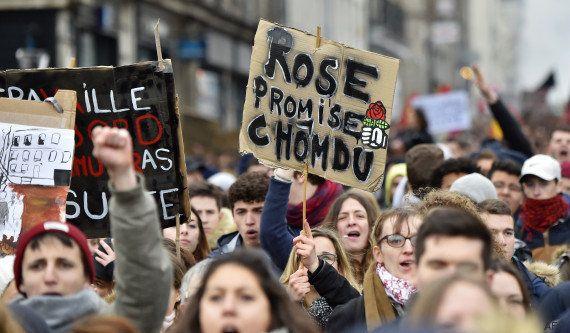 Les manifestations de jeunesse contre la loi Travail
