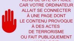 Cinq sites Internet bloqués pour apologie du