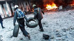 PHOTOS. Ukraine: les violents affrontements rebattent les