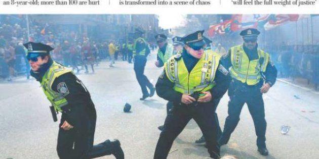 Attentat de Boston: les Unes des journaux américains et étrangers au lendemain du