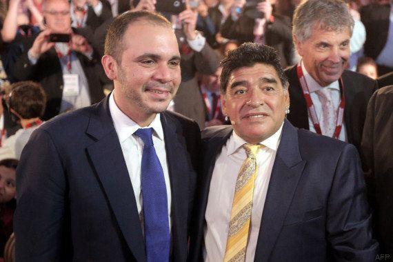 Prince Ali: qui est ce Jordanien, seul rival de Joseph Blatter pour l'élection à la présidence de la