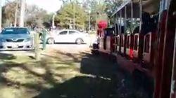 Les petits trains de tourisme ne savent pas