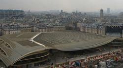 Inauguration des nouvelles Halles à Paris, après 5 ans de