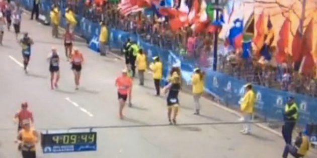 VIDÉO. Marathon de Boston : six secondes d'horreur en boucle sur