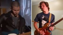 Nick Jonas rate son solo de guitare, Internet se