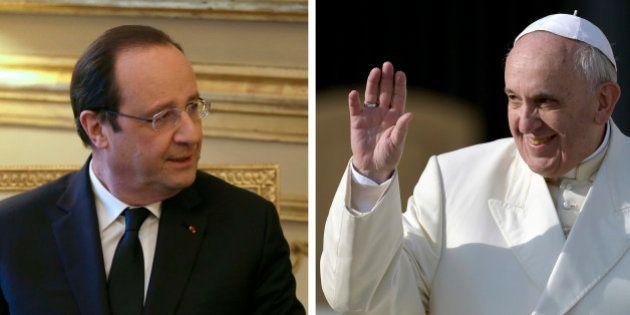 François Hollande vs Pape François : rencontre au sommet entre deux faux