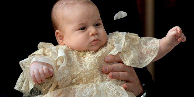 PHOTOS. Prince George: les images du baptême du fils de William et