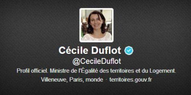 Sur Twitter, Cécile Duflot défend le community manager de son