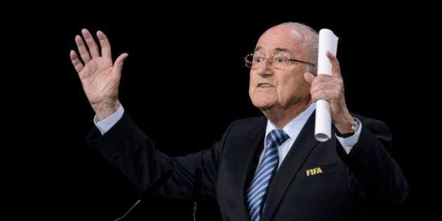 EN DIRECT. Fifa: Sepp Blatter réélu malgré le scandale de corruption qui agite l'instance du football