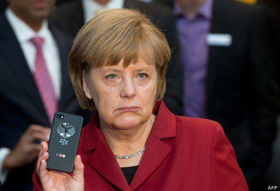 Le telephone portable d'Angela Merkel pourrait être espionné par les