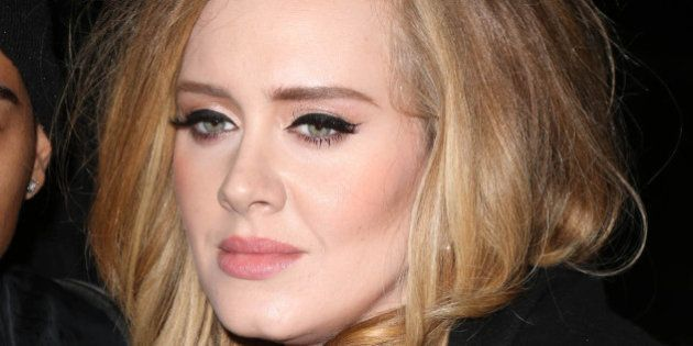 Photo by: KGC-146/STAR MAX/IPx 2015 11/19/15 Adele is seen in New York City.