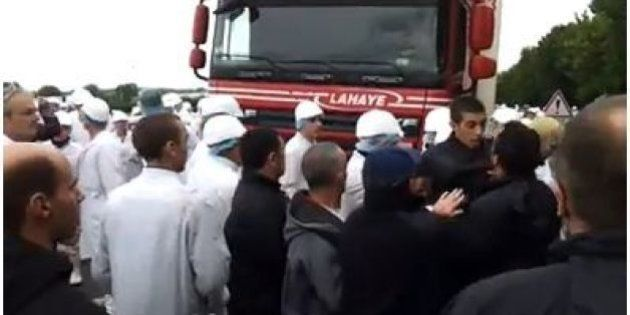 Abattoir Gad : après deux jours de blocage, les salariés obtiennent enfin gain de