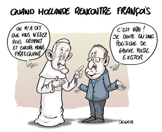 Quand Hollande rencontre