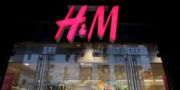 FILE - In this May 31, 2013, file photo, an H&M store is shown in New York. H&M, Hennes & Mauritz reports...