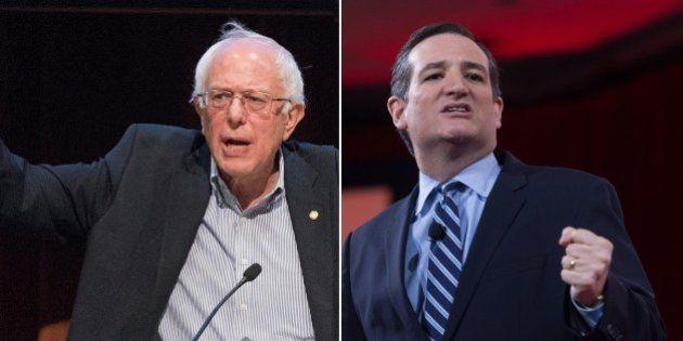 Trump et Cruz chez les républicains, Sanders chez les démocrates, la victoire des radicalités aux