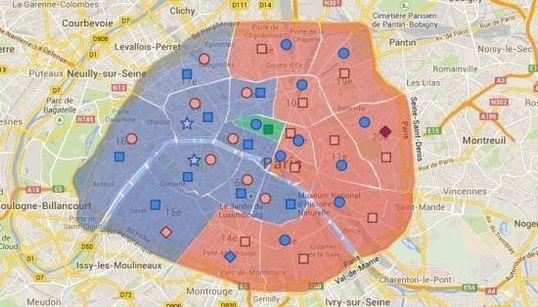 Hidalgo maire de la capitale, NKM sauve l'honneur... La carte des résultats à