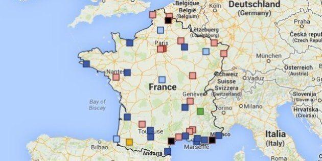 Résultats municipales 2014: les scores dans les principales villes à enjeux [CARTE