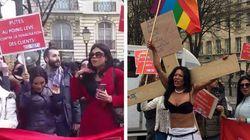 Des prostituées manifestent devant l'Assemblée contre la pénalisation des