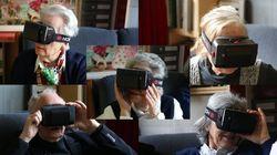 On a fait tester un casque de réalité virtuelle à des