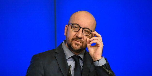 Charles Michel en avril 2016 à Bruxelles, en