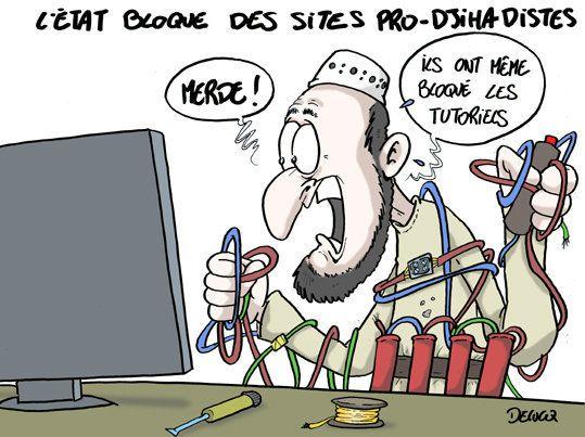 Bloquer les sites pro-djihadistes est-il