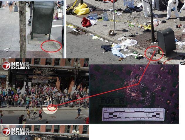 L'enquête sur les attentats de Boston: un suspect repéré, des cocottes-minute, un sac à dos