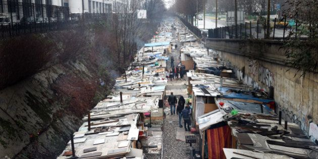 Le plus grand bidonville de Paris
