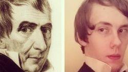 Sur Instagram, il imite tous les présidents