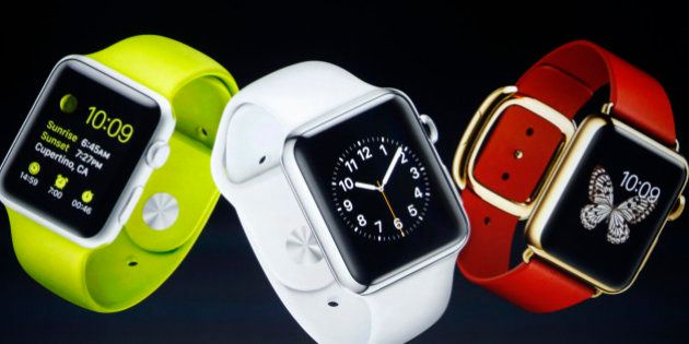 PHOTOS. Apple Watch et les montres connectées : 2015 sera l'année ou