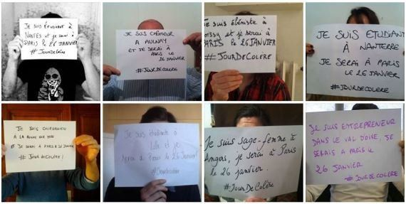 Jour de Colère : qui se cache derrière la manifestation du 26 janvier contre le