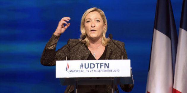 Européennes 2014: le FN devant l'UMP et le PS, selon un