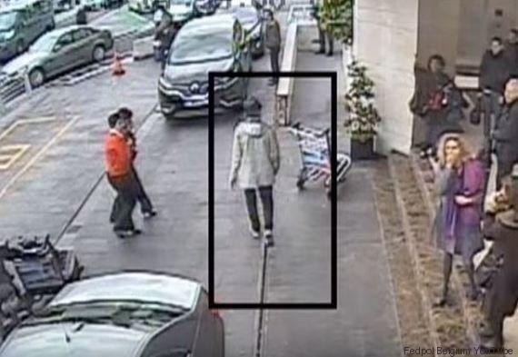 Le parcours et les images du fugitif de Bruxelles après l'attentat dans une vidéo de la