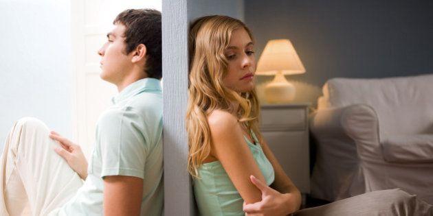 rencontre quelqu'un qui est séparé, mais pas divorcé