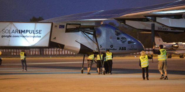 Solar impulse 2 cloué au sol pendant une semaine, victime de la bureaucratie