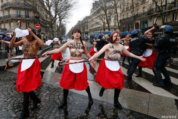 Paris: plusieurs milliers de manifestants