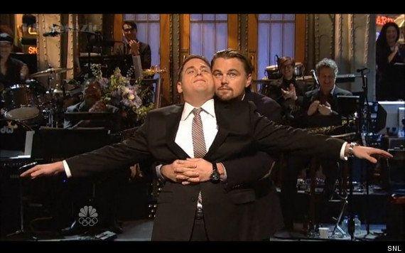 VIDÉO. Titanic : Leonardo DiCaprio reproduit une scène culte avec Jonah