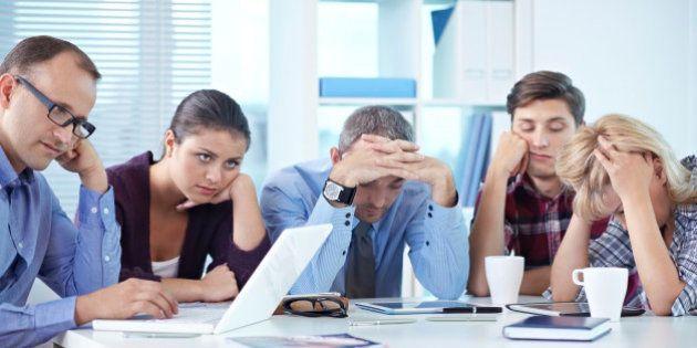 Réunions de travail : 6 chiffres qui montrent que les salariés souffrent de