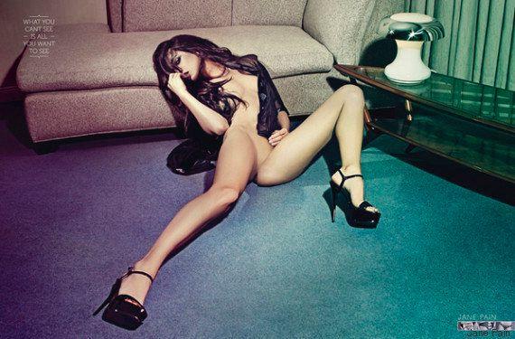 PHOTOS. Ces publicités pour lingerie de la marque Jane Pain se basent sur des illusions d'optique très