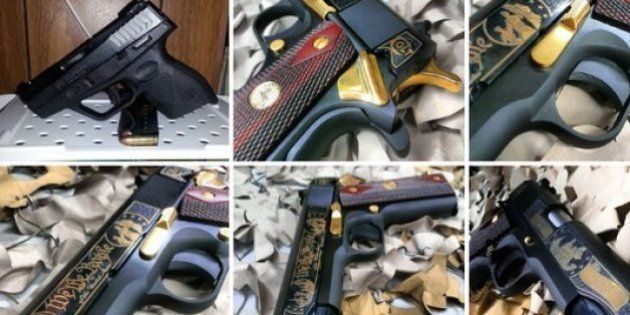 PHOTOS. Des armes à feu en vente sur