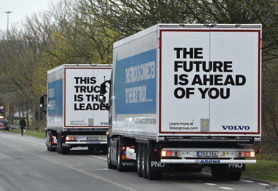 Des camions autonomes viennent de traverser l'Europe pour la première