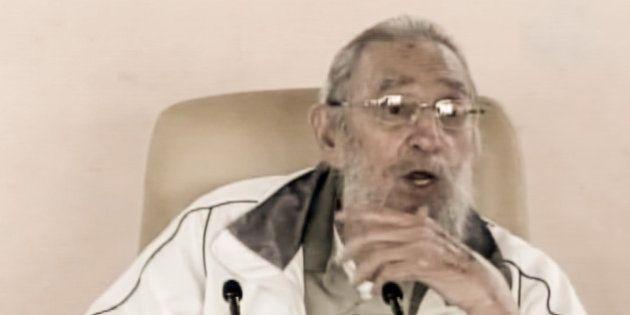 PHOTOS. Fidel Castro fait sa première réapparition publique en neuf