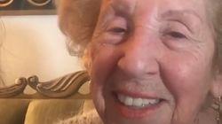 Cette survivante de l'holocauste va réaliser son rêve grâce aux