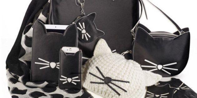 PHOTOS. Karl Lagerfeld s'inspire de son chat Choupette pour une collection