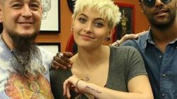 Le tatouage émouvant de la fille de Michael