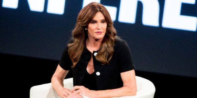 Caitlyn Jenner speaks at the 2nd Annual MAKERS Conference at Terranea Resort on Tuesday, Feb. 2, 2016,...