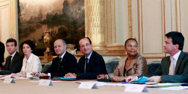Gouvernement Valls: une équipe