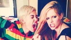 Miley Cyrus et Avril Lavigne en sont venues aux